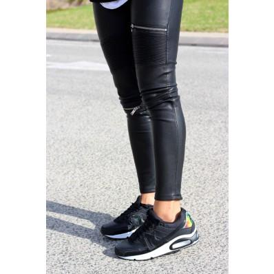 zapatillas air max negras mujer