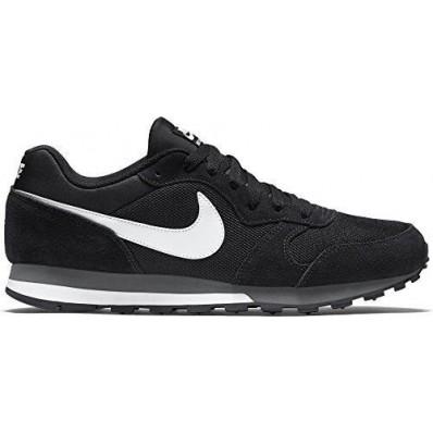 zapatillas mujer nike running md runner negro gris