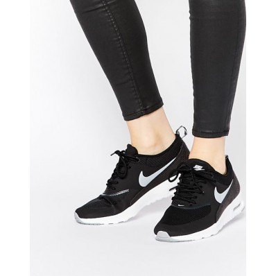 zapatillas negra mujer nike