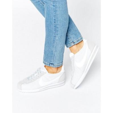 zapatillas nike mujer blancas y rojas