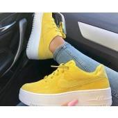 nike air force 1 blancas y amarillas